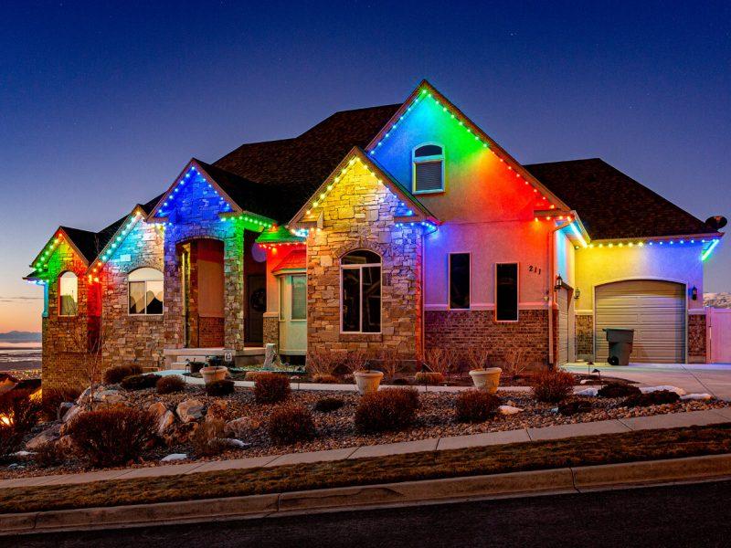 Permanent Holiday Lights Illinois