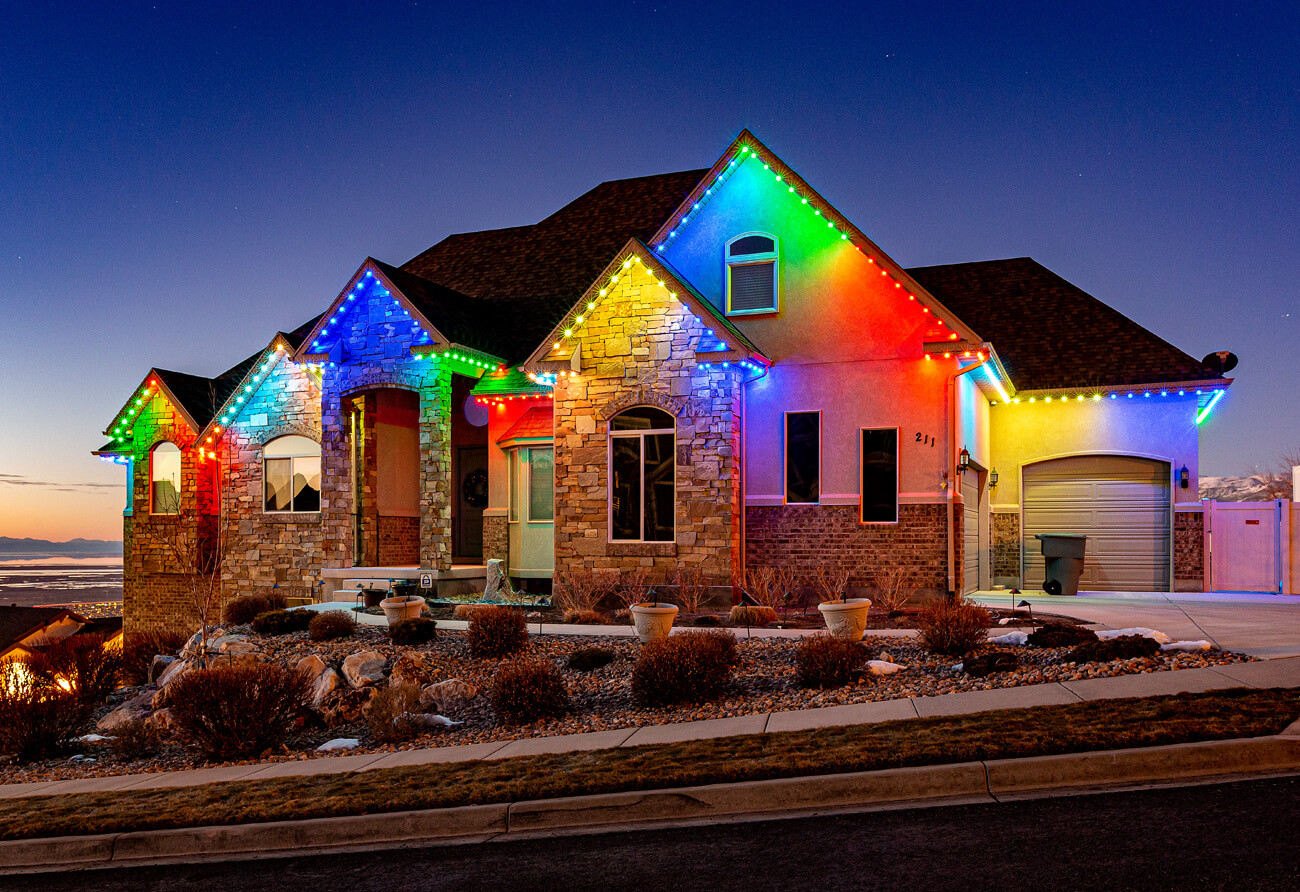 Permanent Holiday Lights Illinois - Christmas lights - Best Holiday Lights